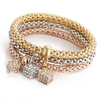 Fashion Zinc Alloy Bracelets