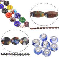 Millefiori Glass Beads Jewelry