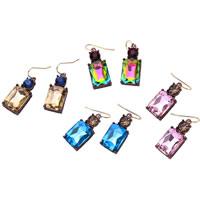 Glass Zinc Alloy Earring