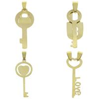 Stainless Steel Key Pendants