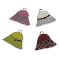 Zinc Alloy Hat Pendants