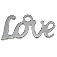 Stainless Steel Letter Pendant