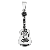 Stainless Steel Musical Instrument and Note Pendant