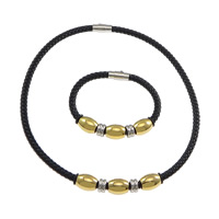 Fashion Leather Jewelry Sets